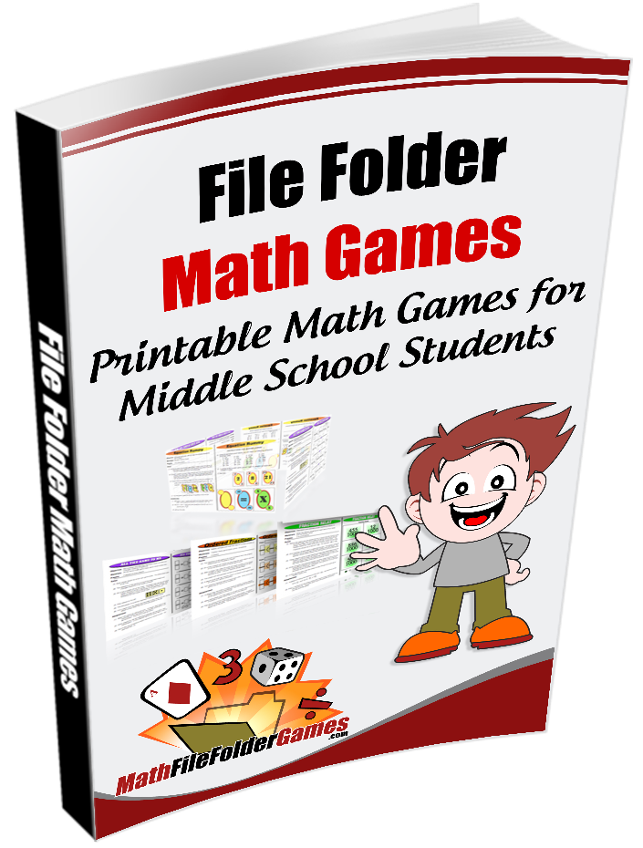 Math File Folder Games