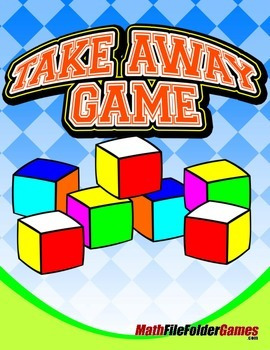 """Block"" Take Away Game {Math Game}"