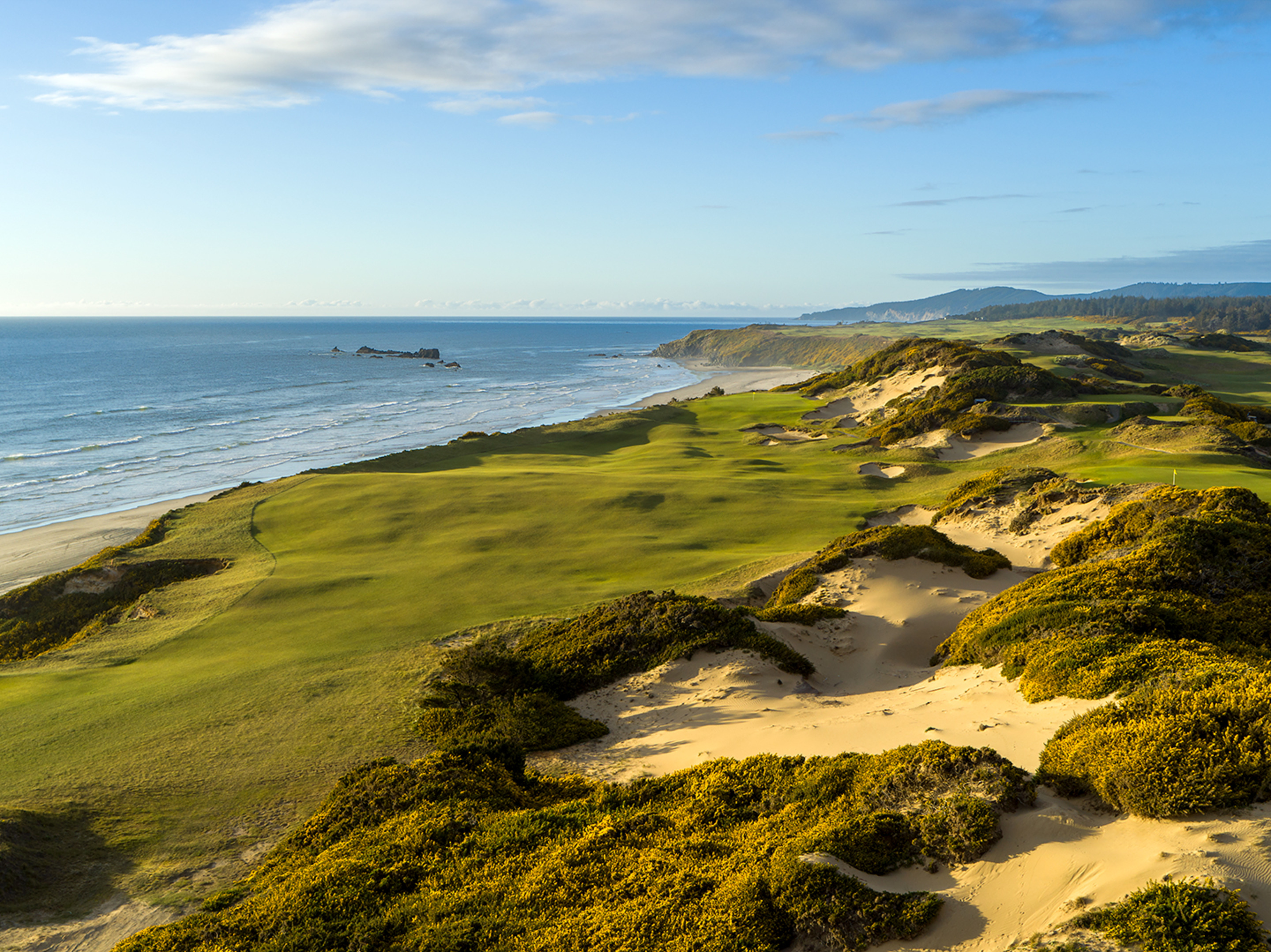13th Hole, Pacific Dunes