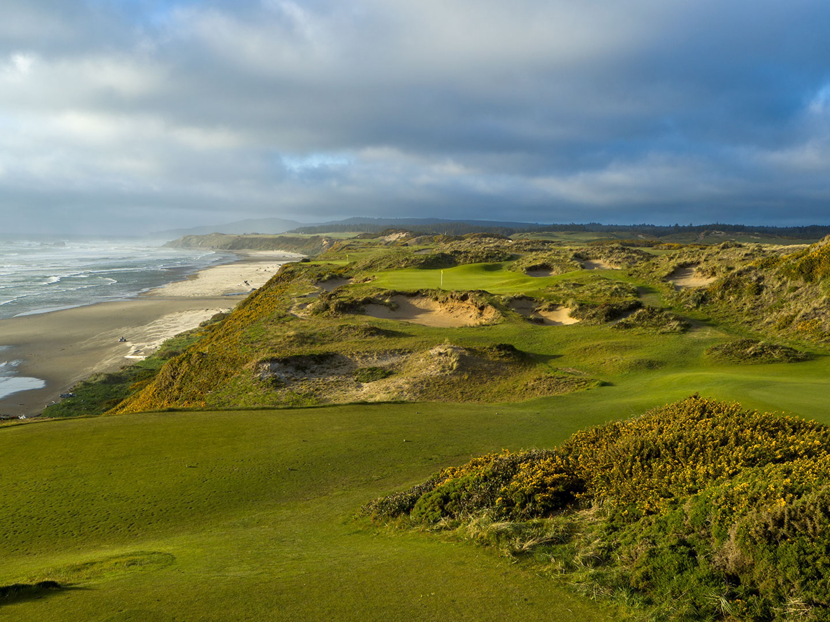 11th Hole, Pacific Dunes