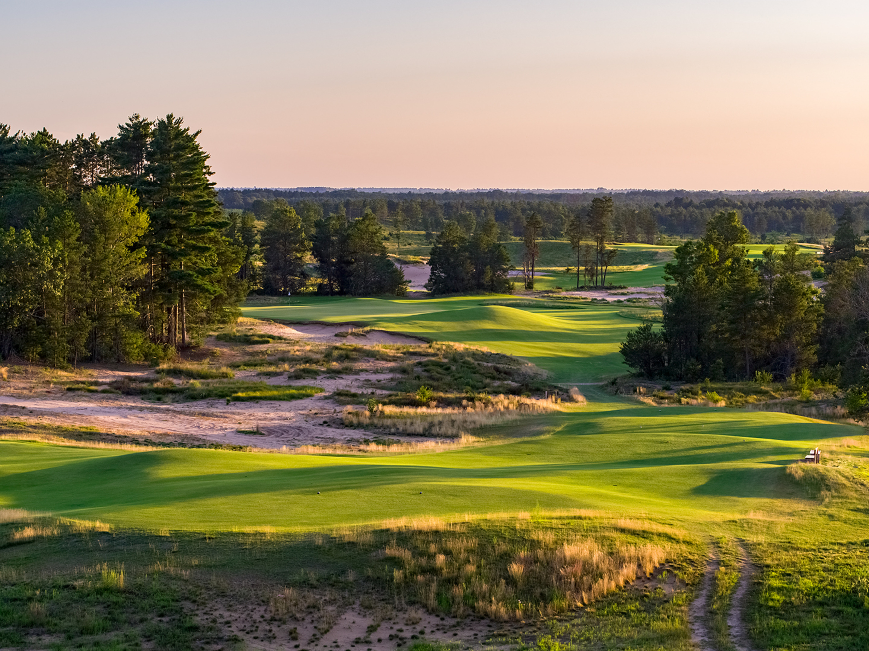 3rd Hole, Sand Valley