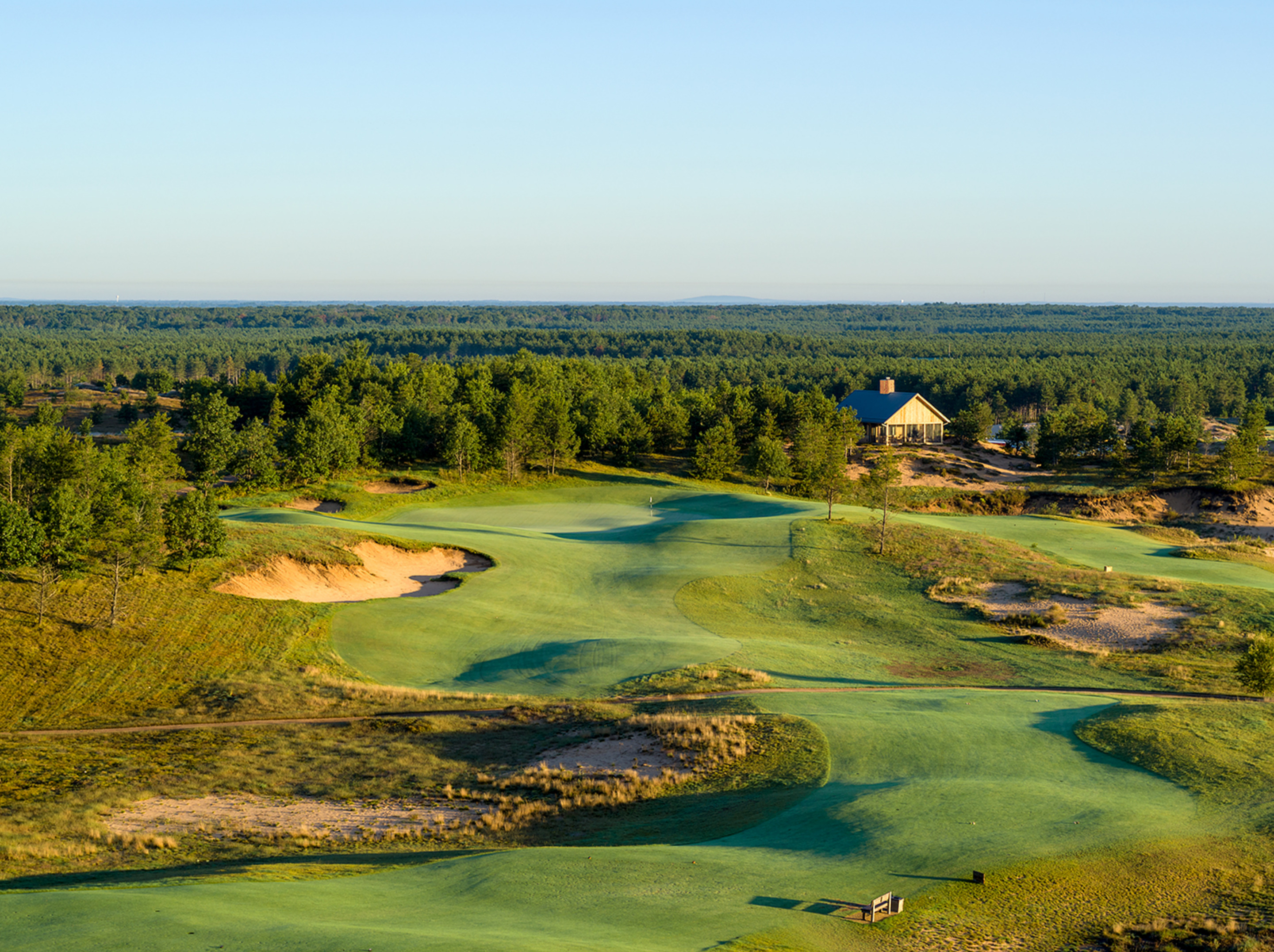 17th Hole, Sand Valley