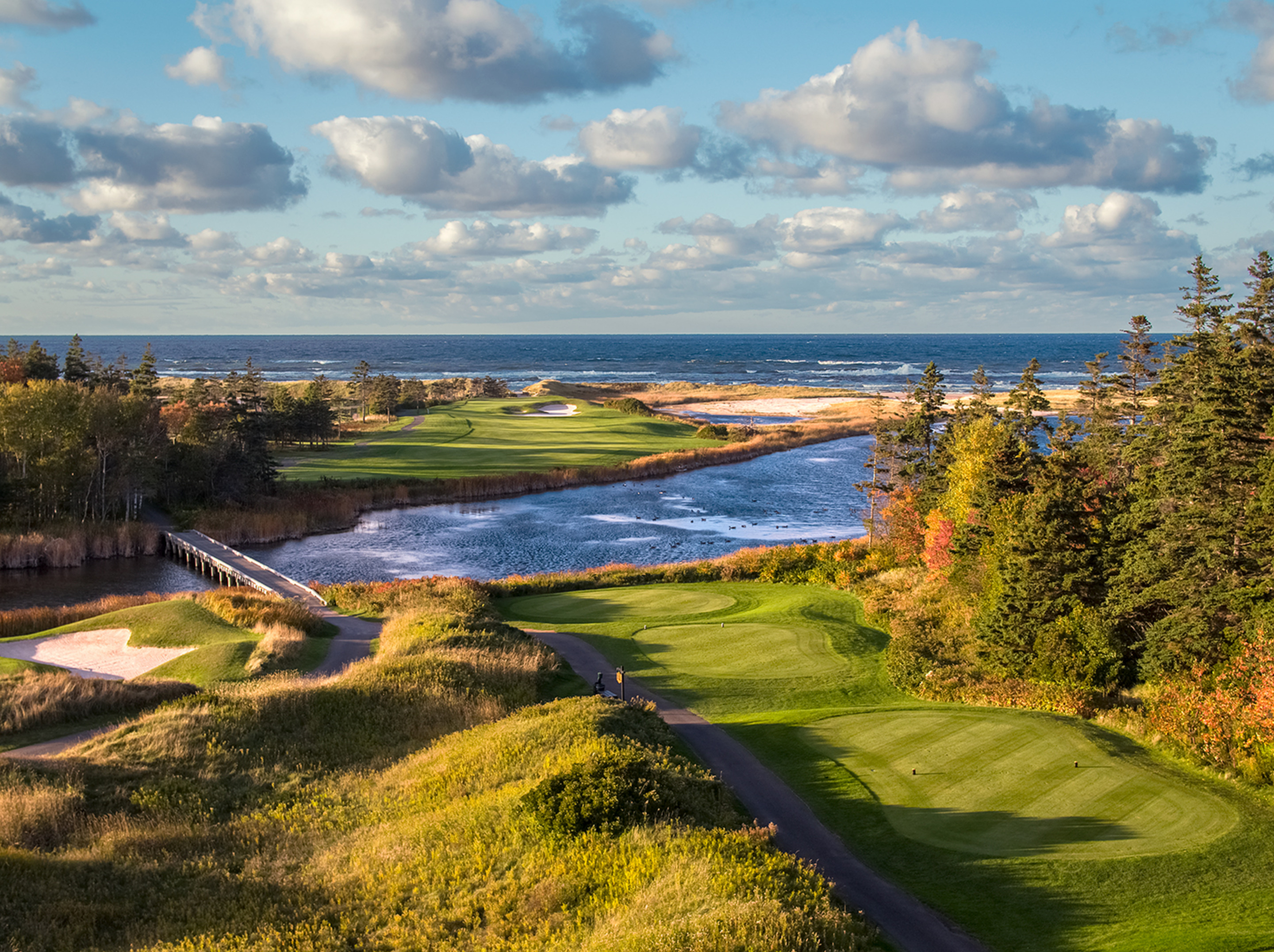 7th Hole, The Links at Crowbush Cove