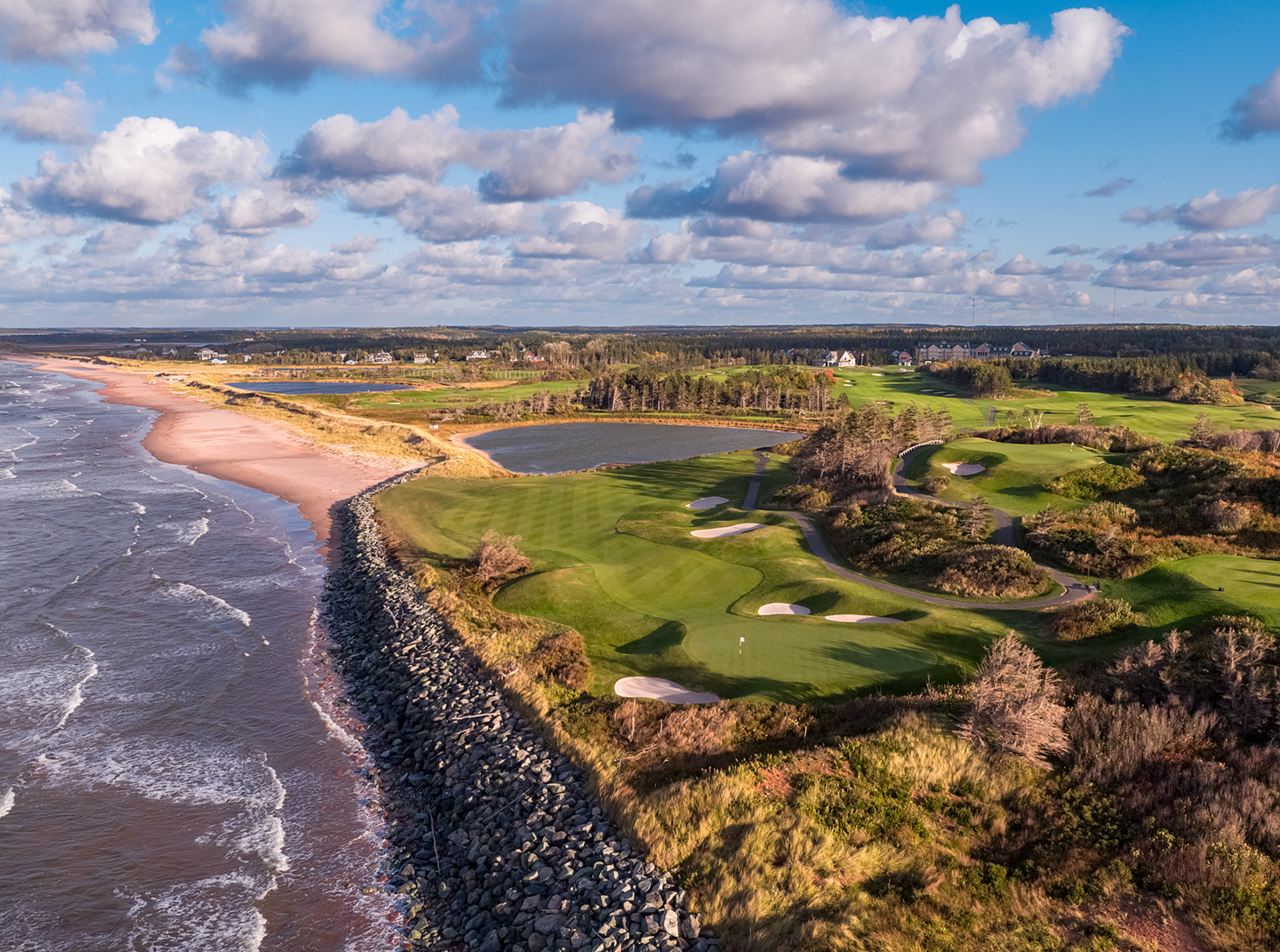 16th Hole, The Links at Crowbush Cove