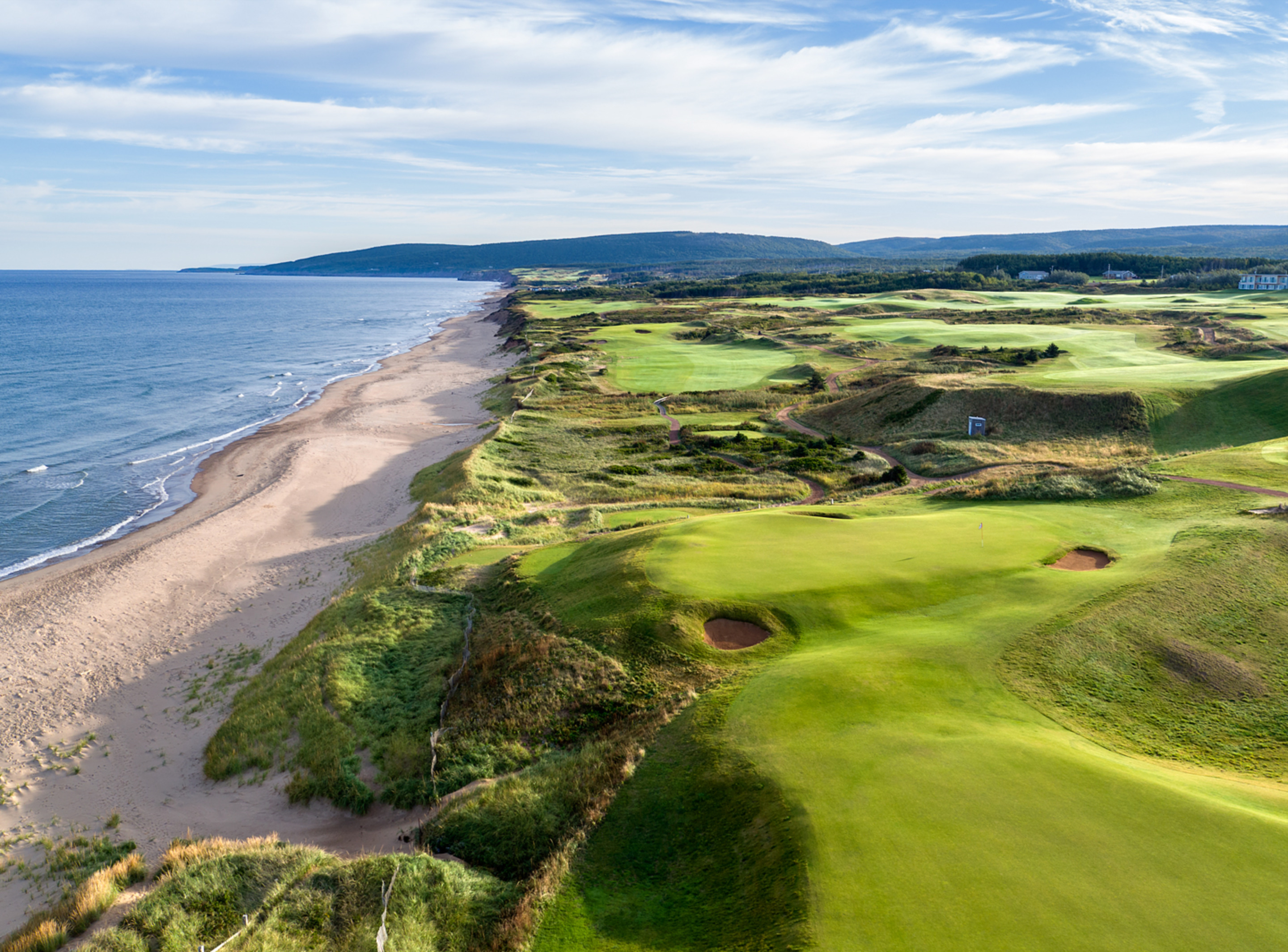 14th & 15th Holes, Cabot Links