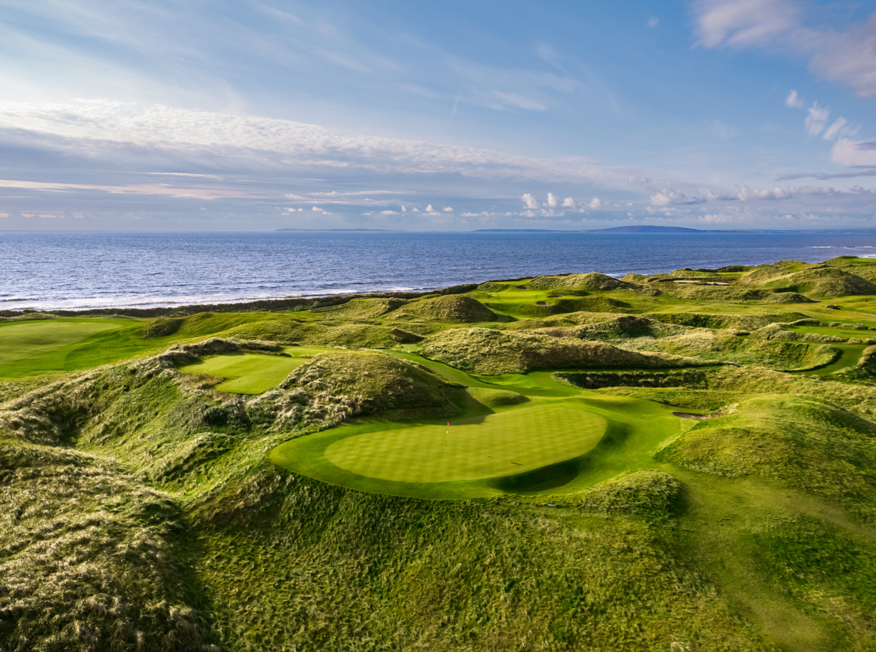 14th & 15th Holes, The Old Course at Ballybunion