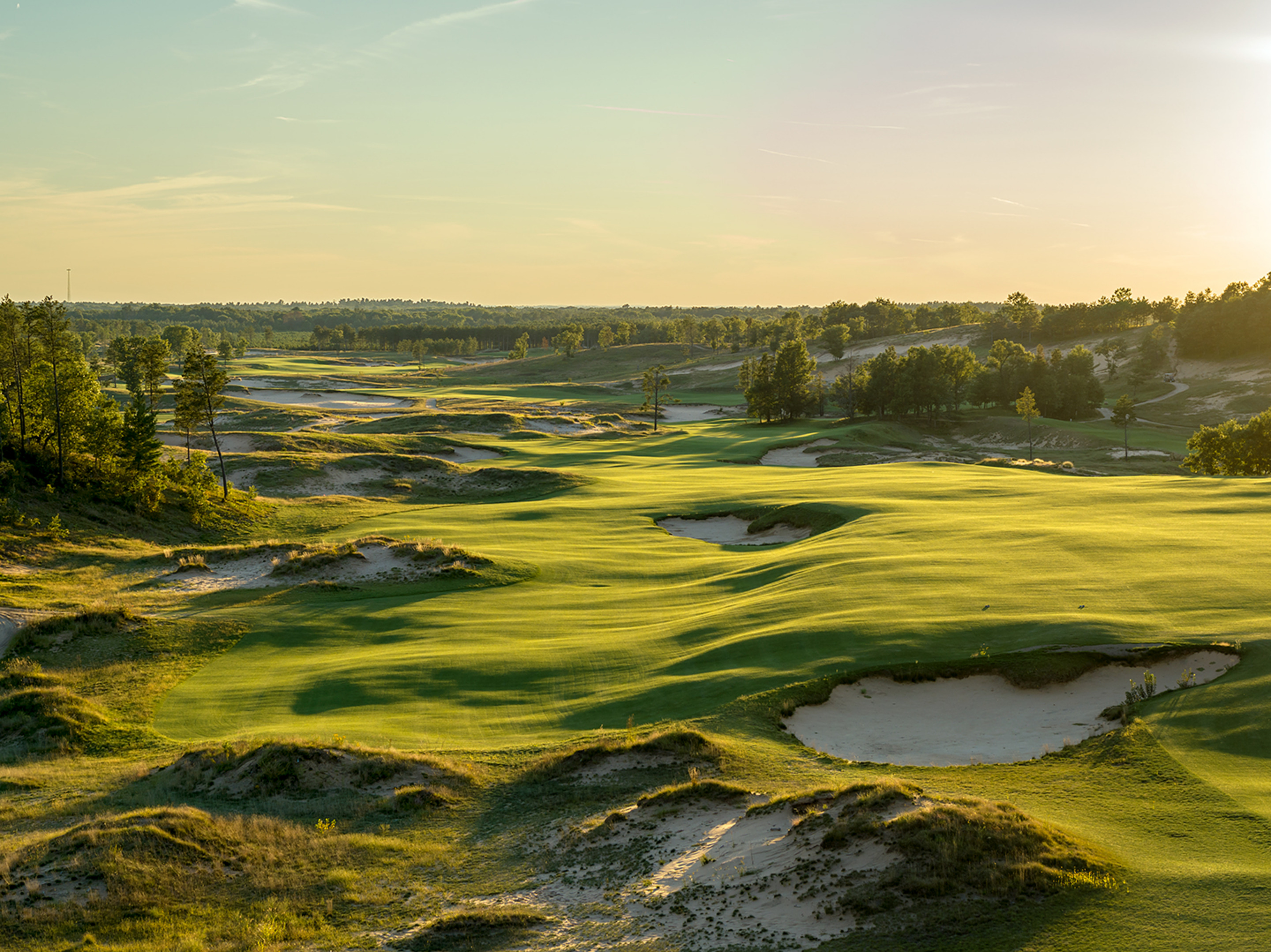10th Hole, Sand Valley
