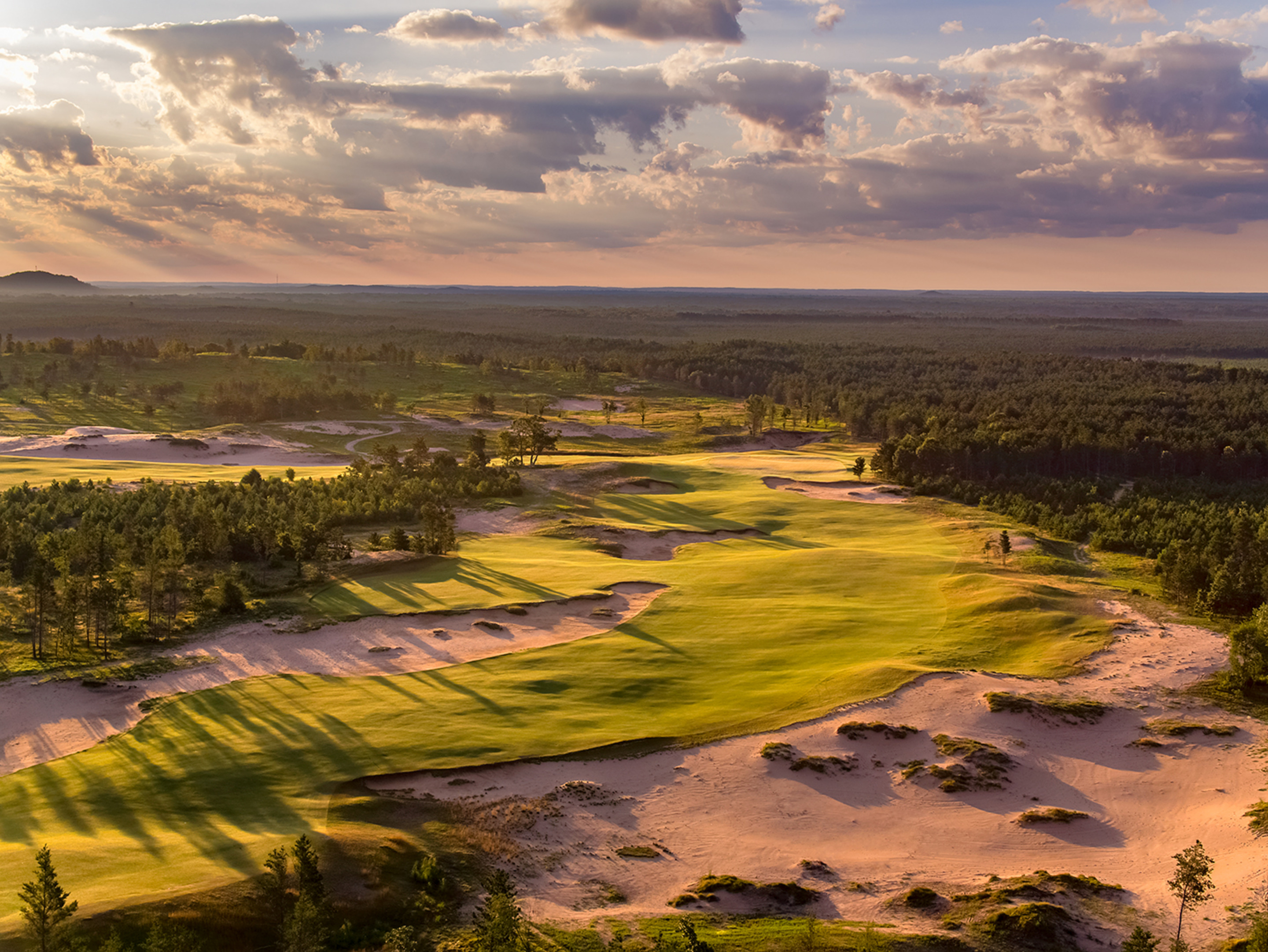 6th Hole, Sand Valley
