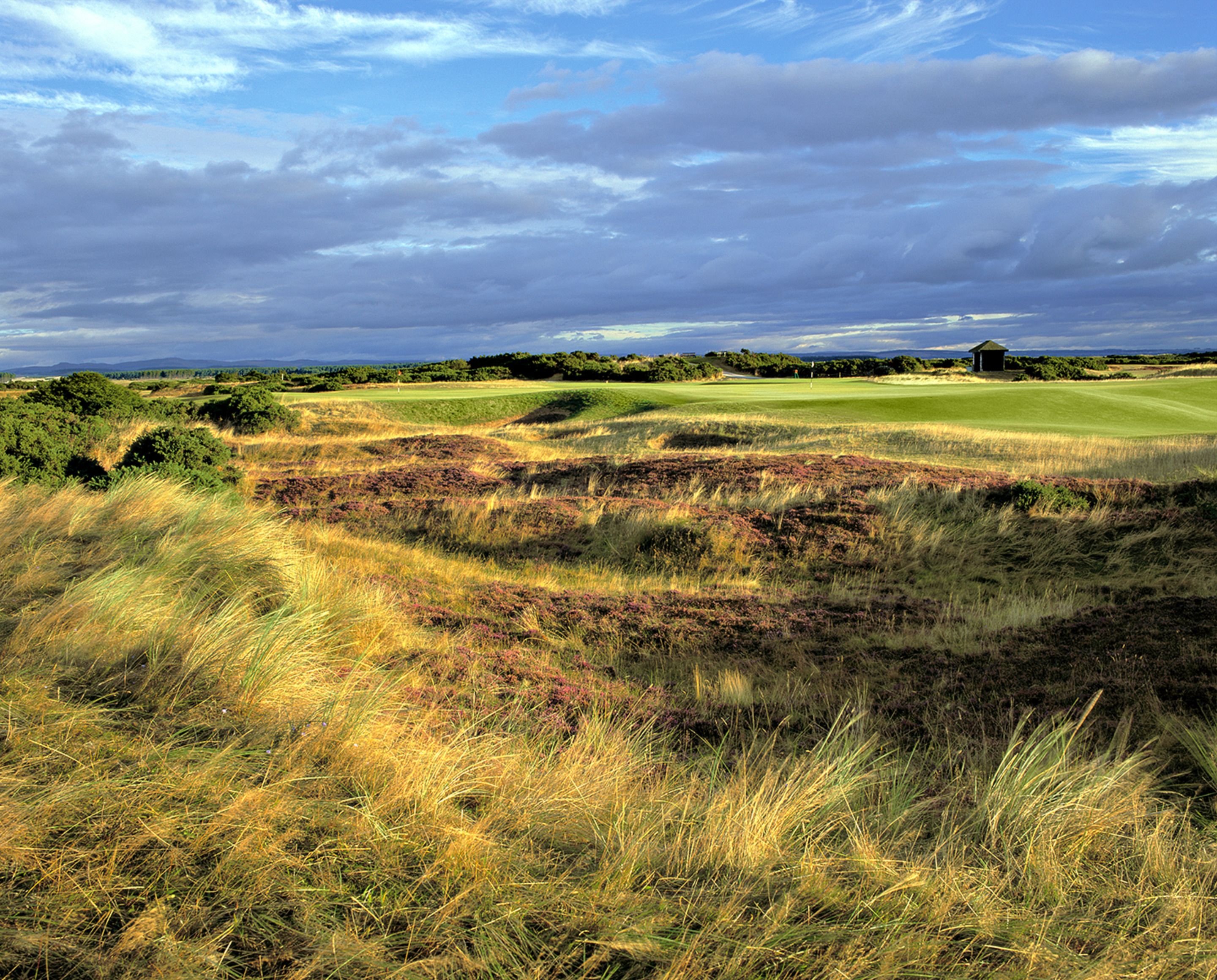 5th & 13th greens, The Old Course at St. Andrews