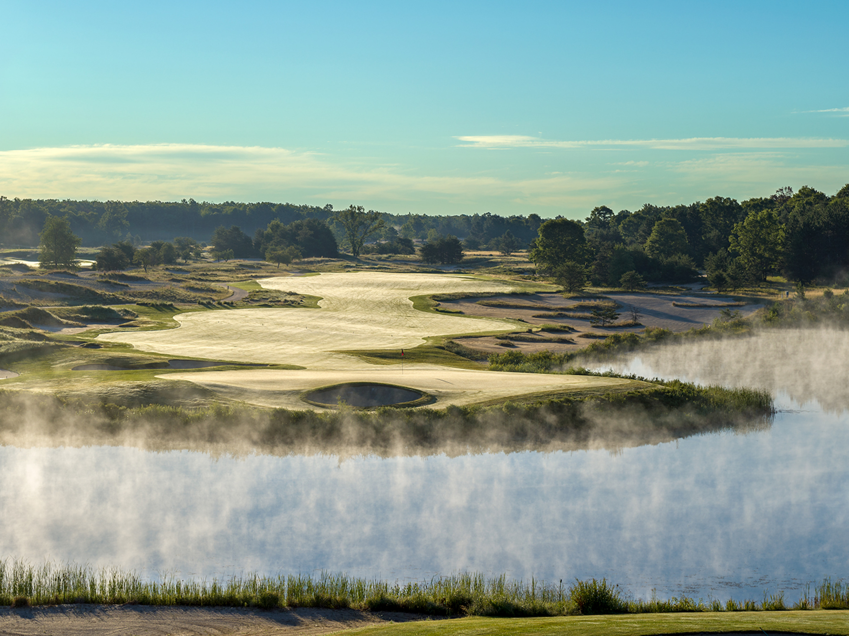 18th Hole, Forest Dunes