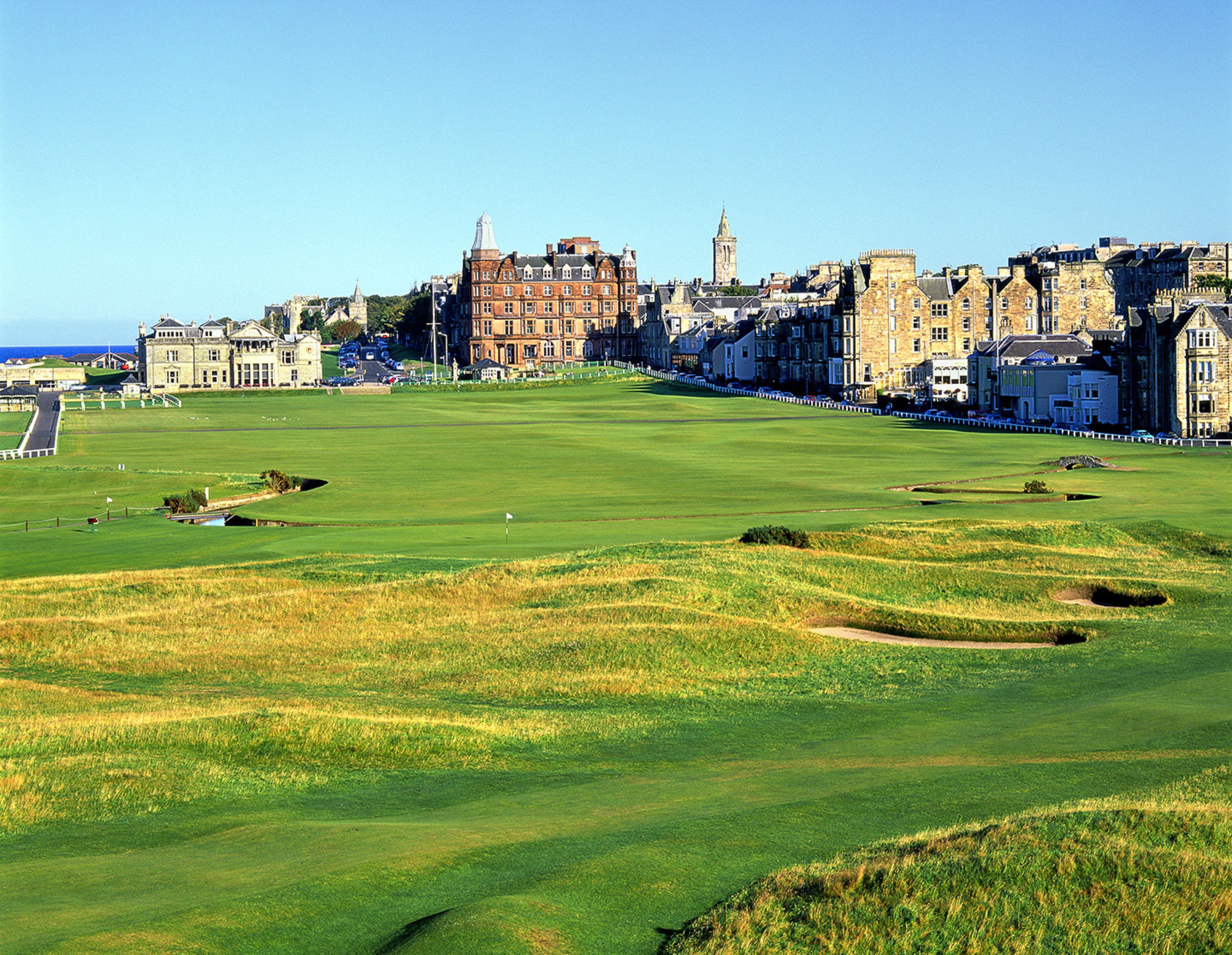 1st & 18th Holes, The Old Course at St. Andrews