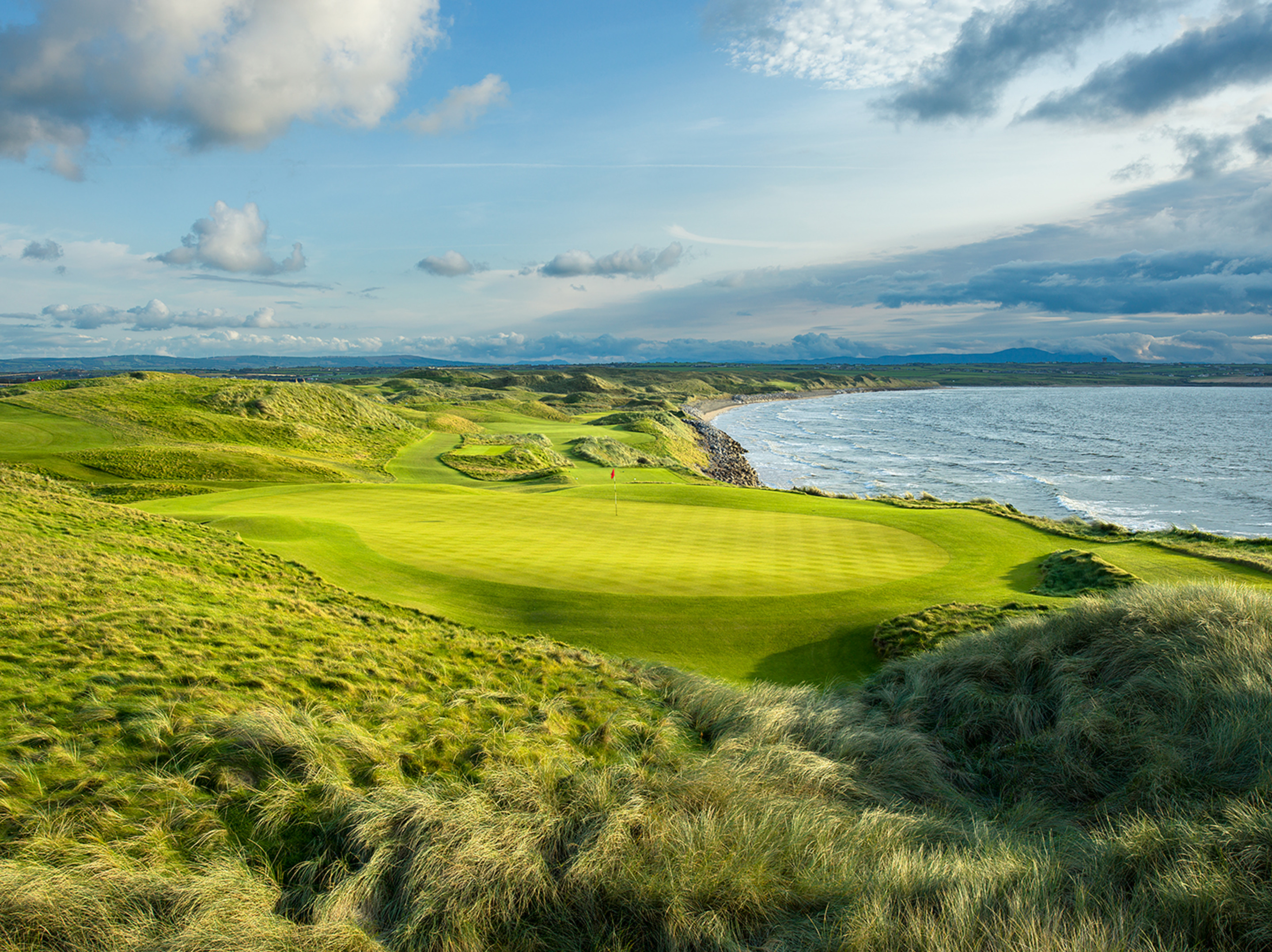 10th & 11th Hole, The Old Course at Ballybunion
