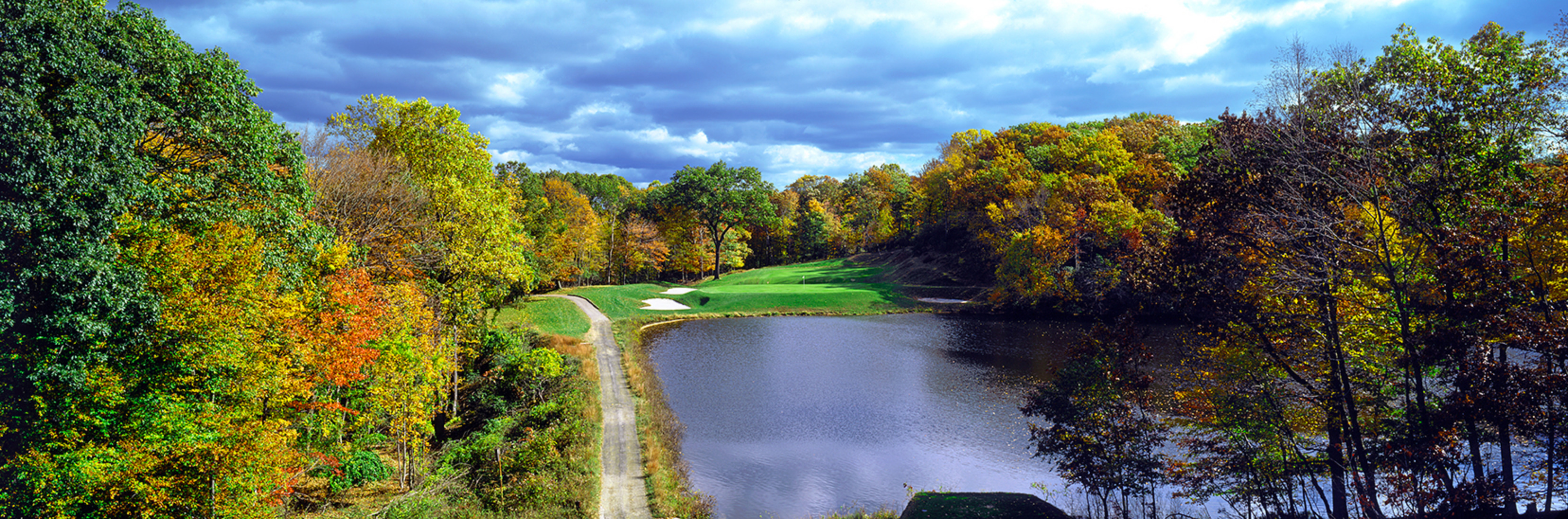 9th Hole, The Course at Yale