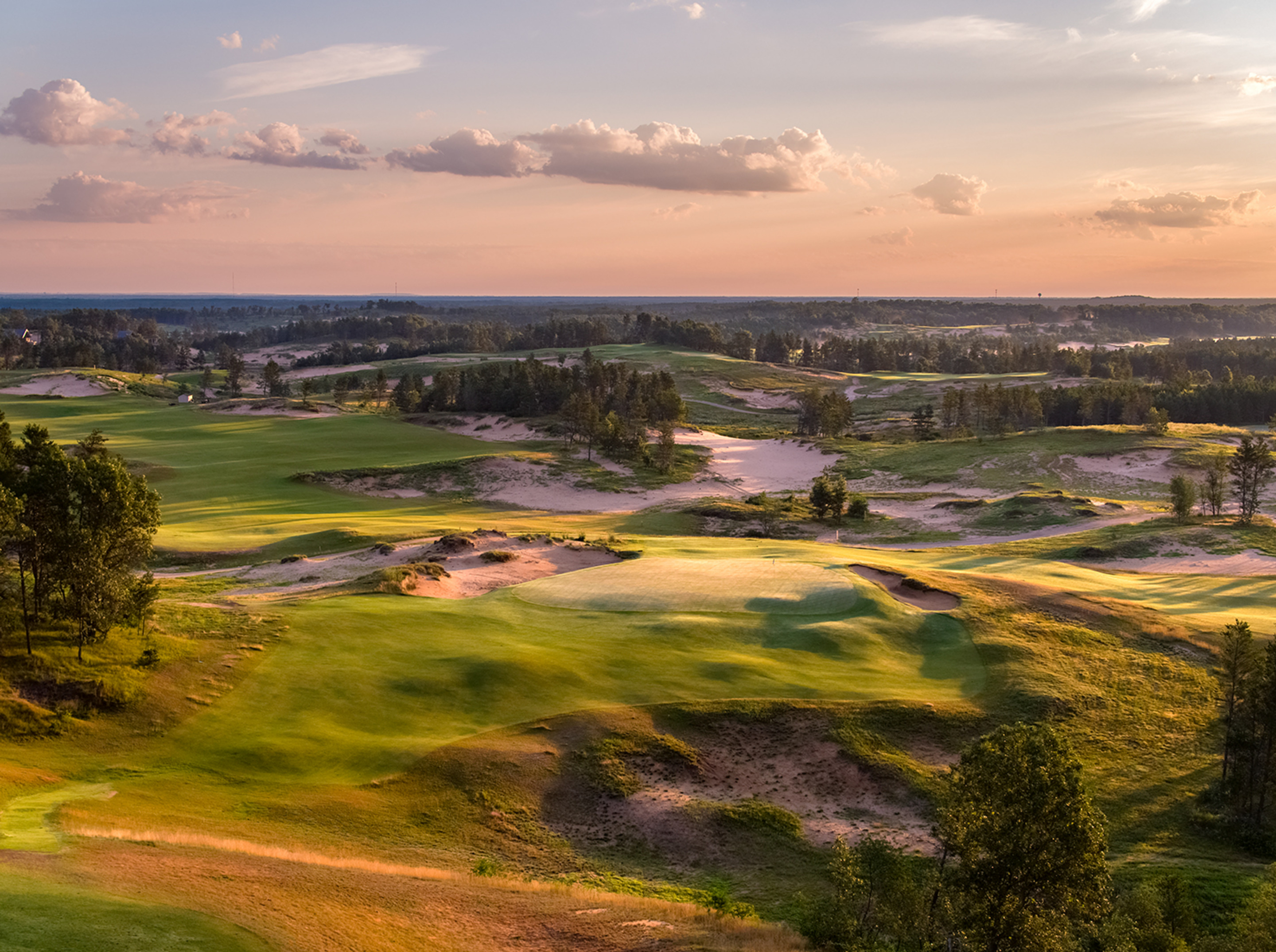 5th Hole, Sand Valley