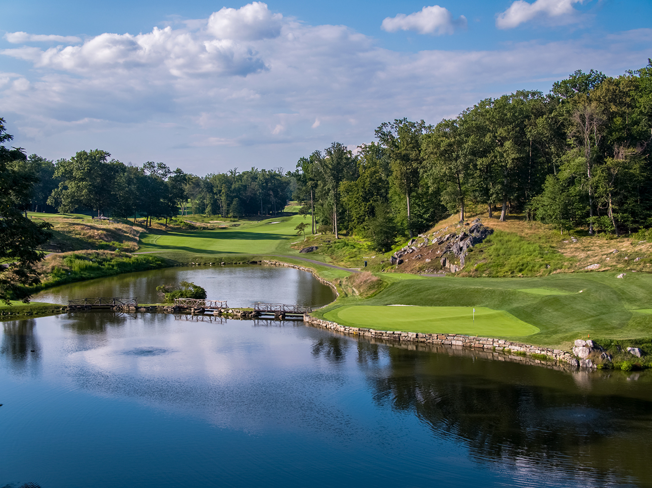10th Hole, Sleepy Hollow Country Club -