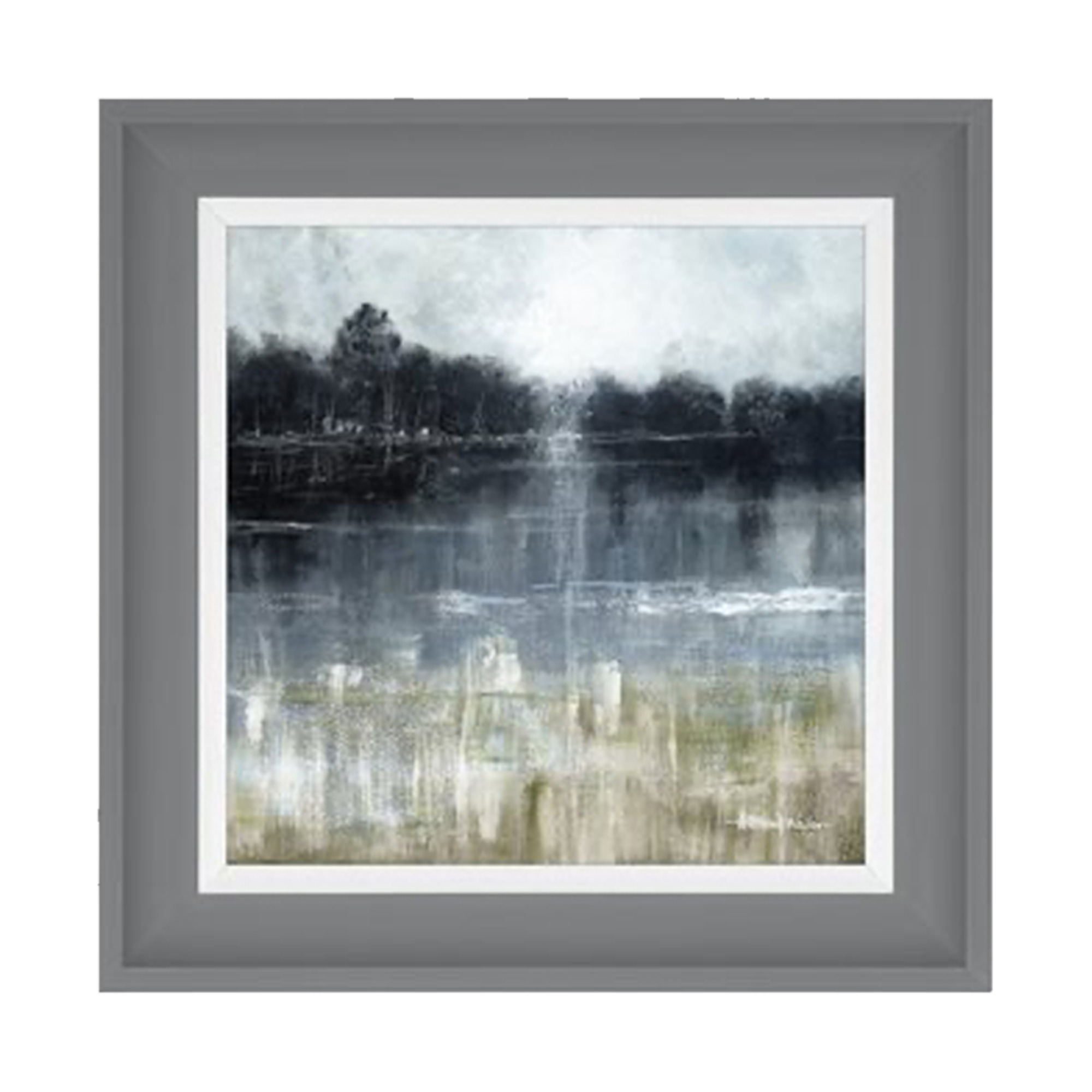 1832 Wander lake two framed artwork