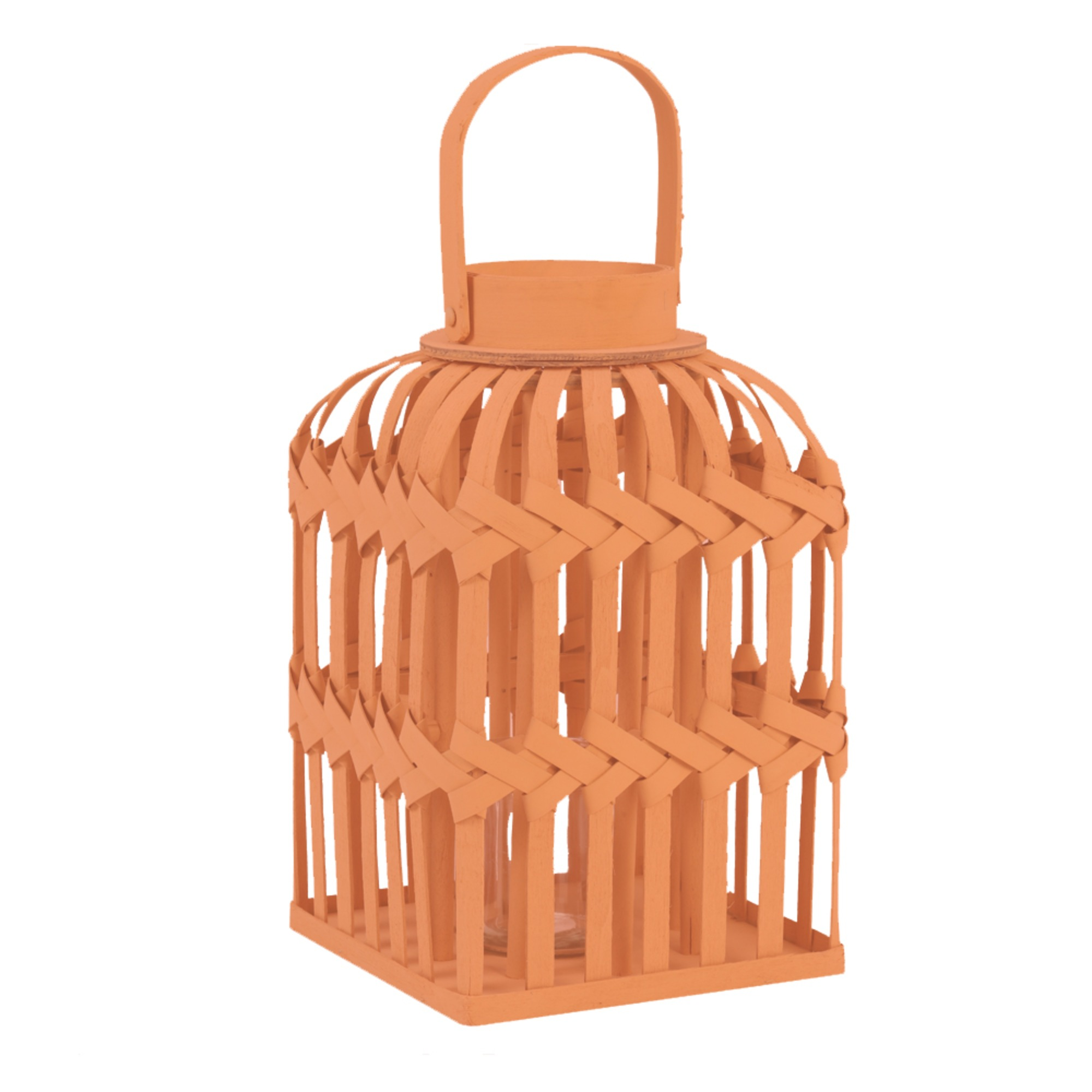1165 Terra wicker lantern small