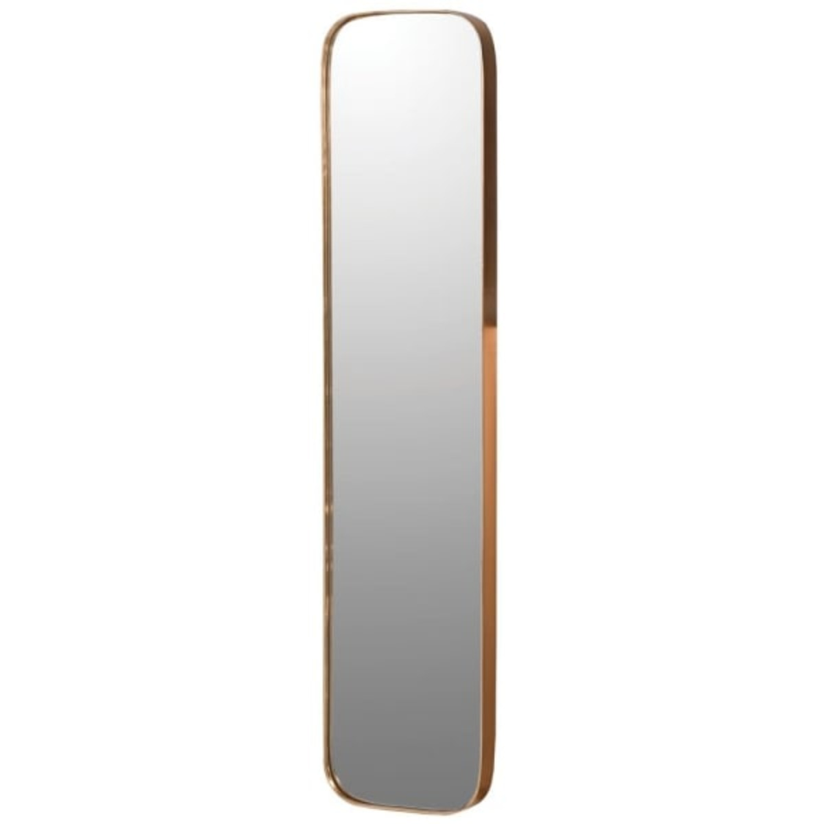 1842 Long curved edge mirror