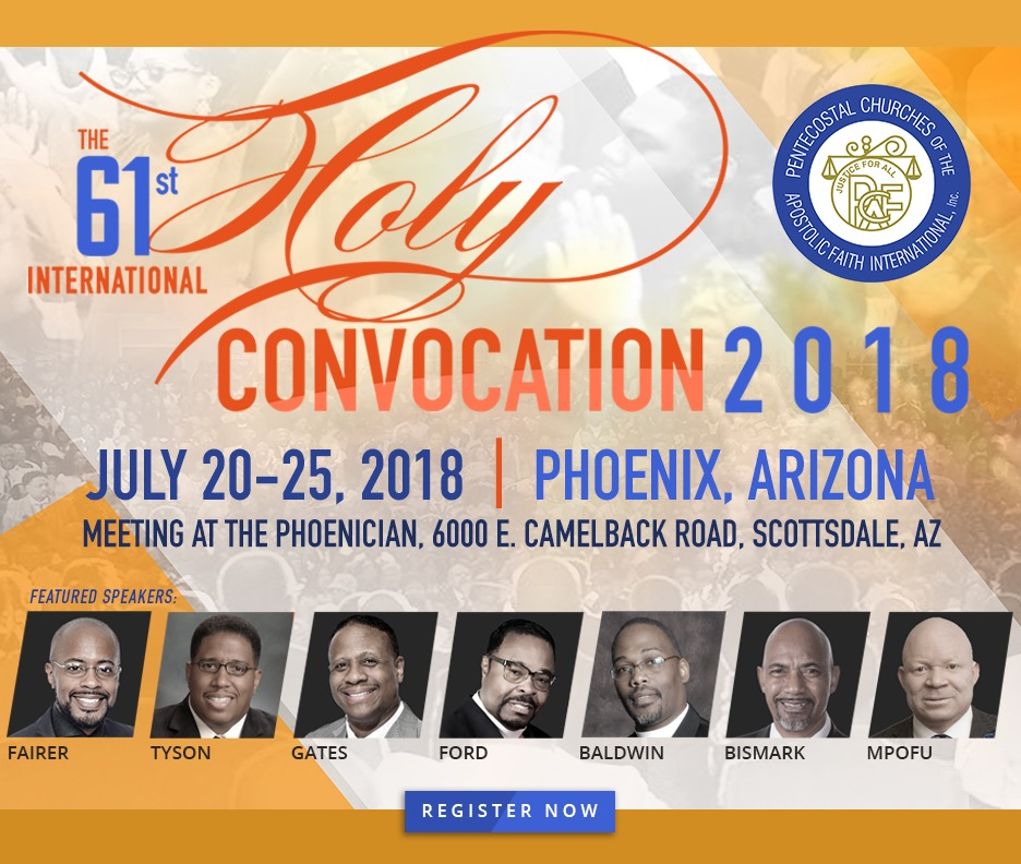 Audio Download - PCAF 2018- Monday Evening - Bishop Jerry Baldwin, Jr.