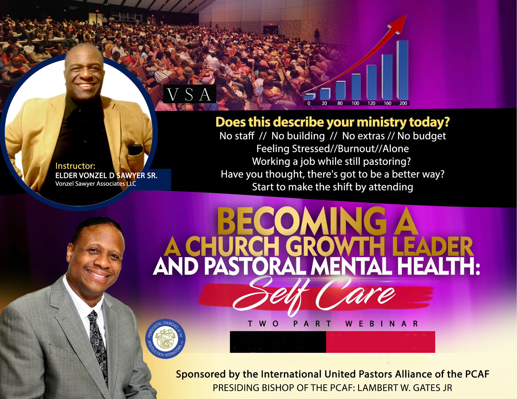 Becoming a Church Growth Leader and Pastoral Mental Health: Self Care