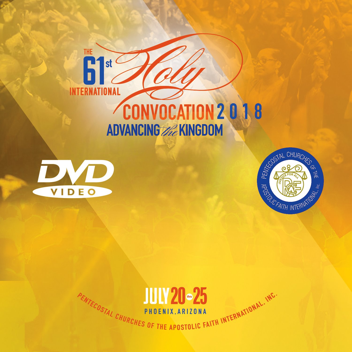 DVD - PCAF 2018 - Saturday Morning - Youth Rally