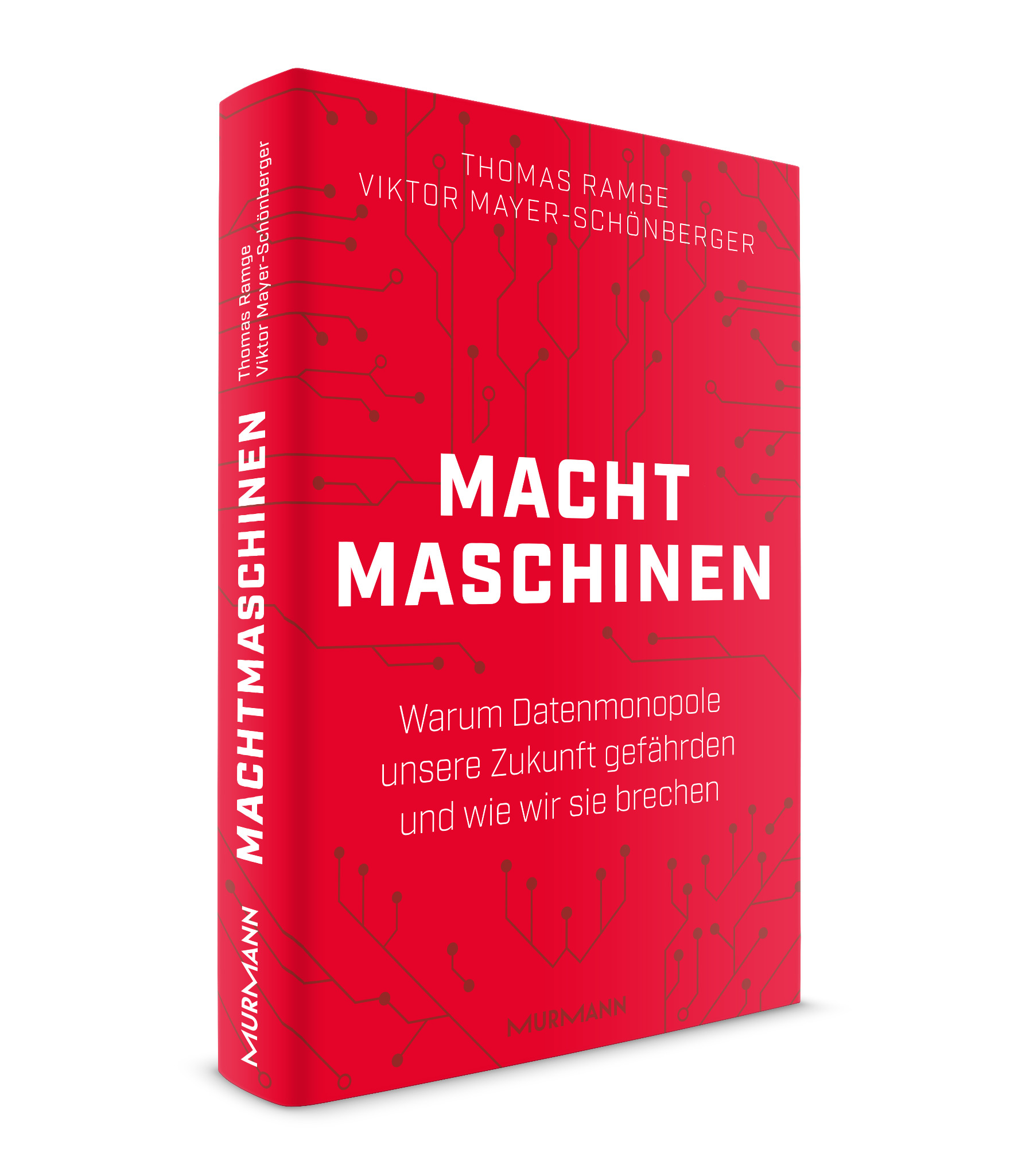 *Machtmaschinen / Thomas Ramge, Viktor Mayer-Schönberger