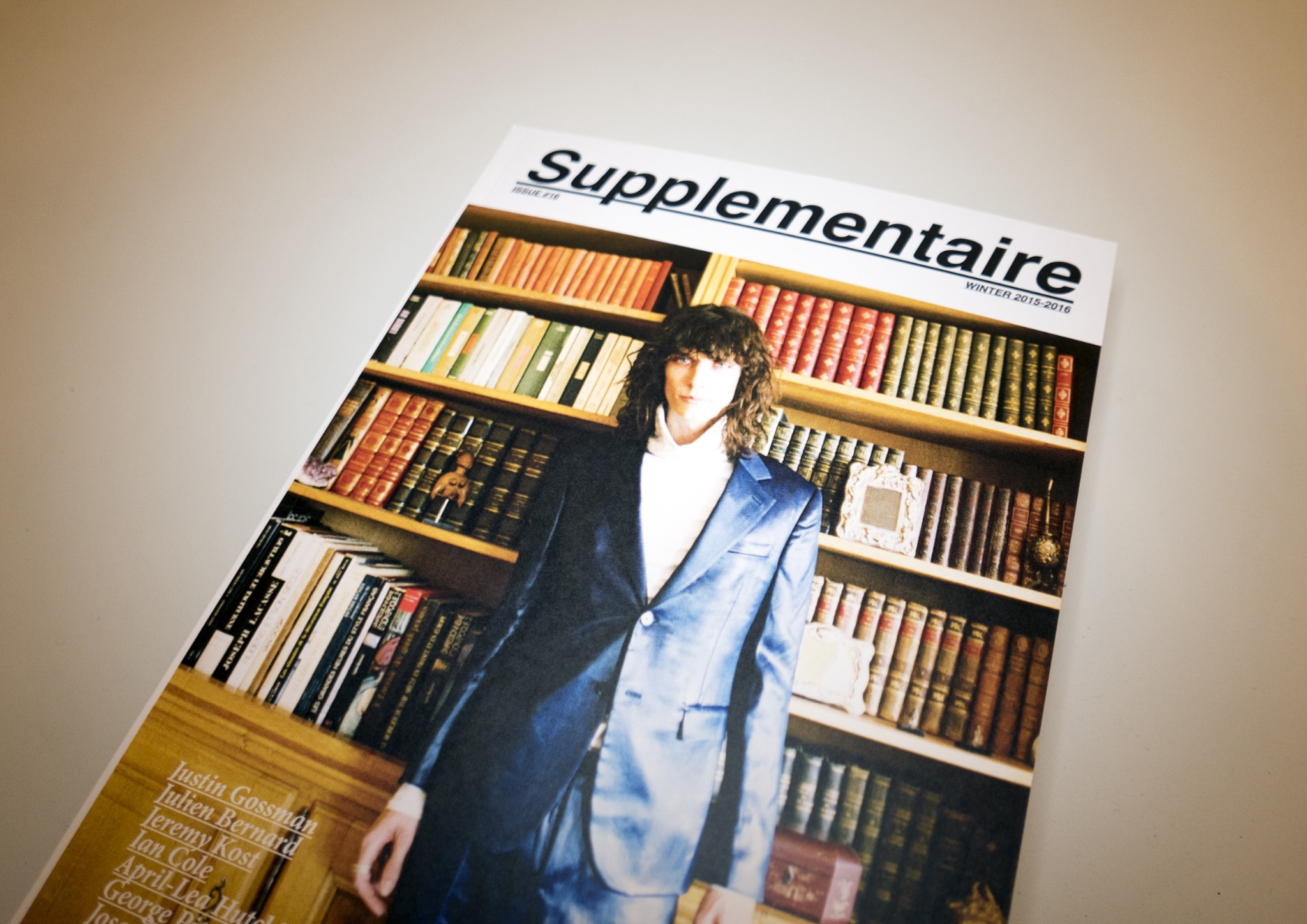 Supplementaire #16 (Print Edition)