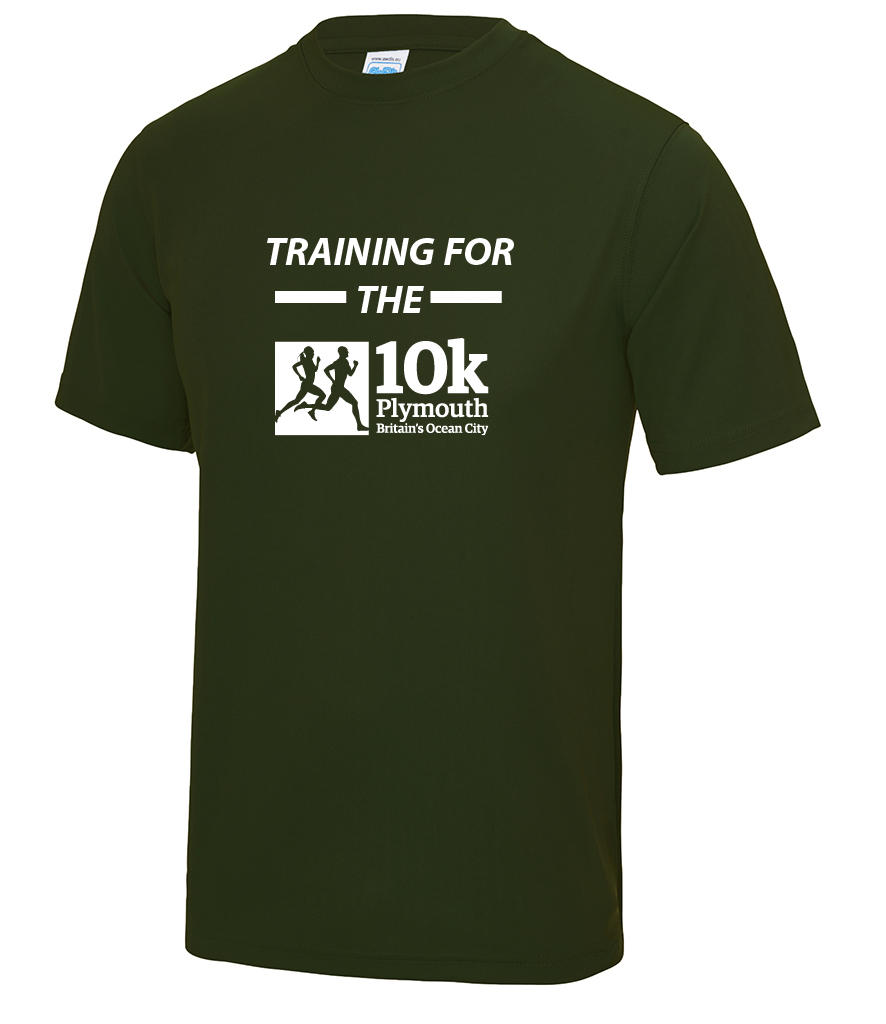 Camo Green Training For The Plymouth 10k