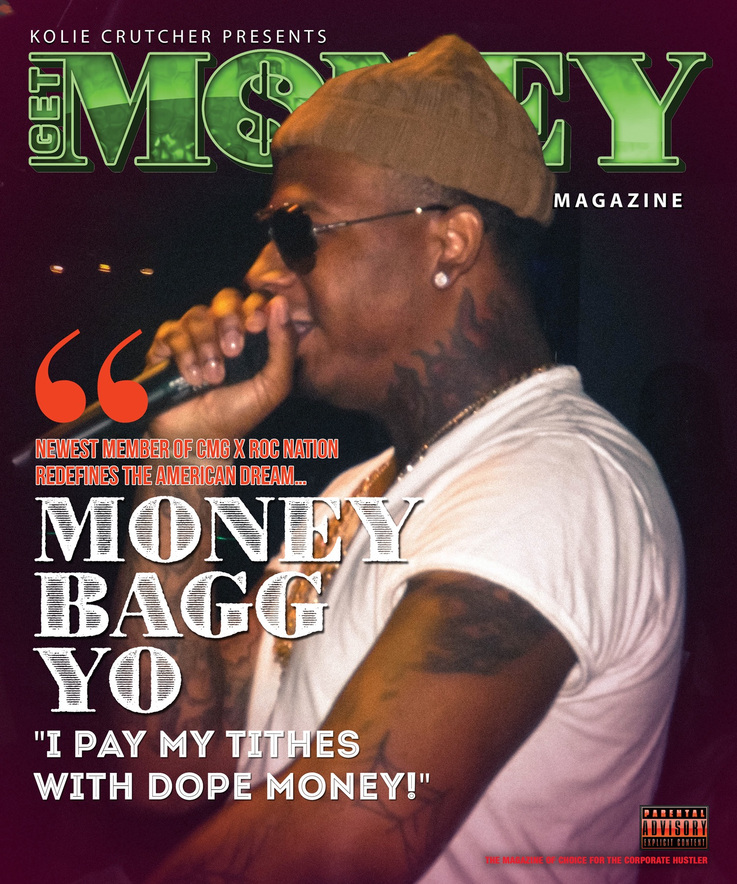 GET MONEY Magazine - Issue #10 (MONEYBAGG YO x PRINCESS C00KIE)