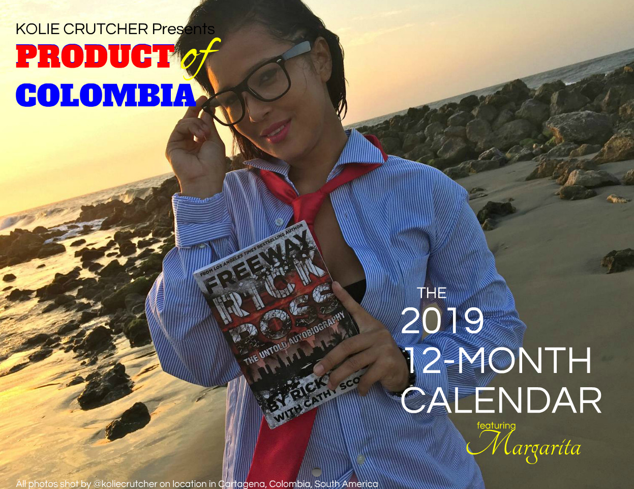 PRODUCT OF COLOMBIA - 2019 12-Month Calendar