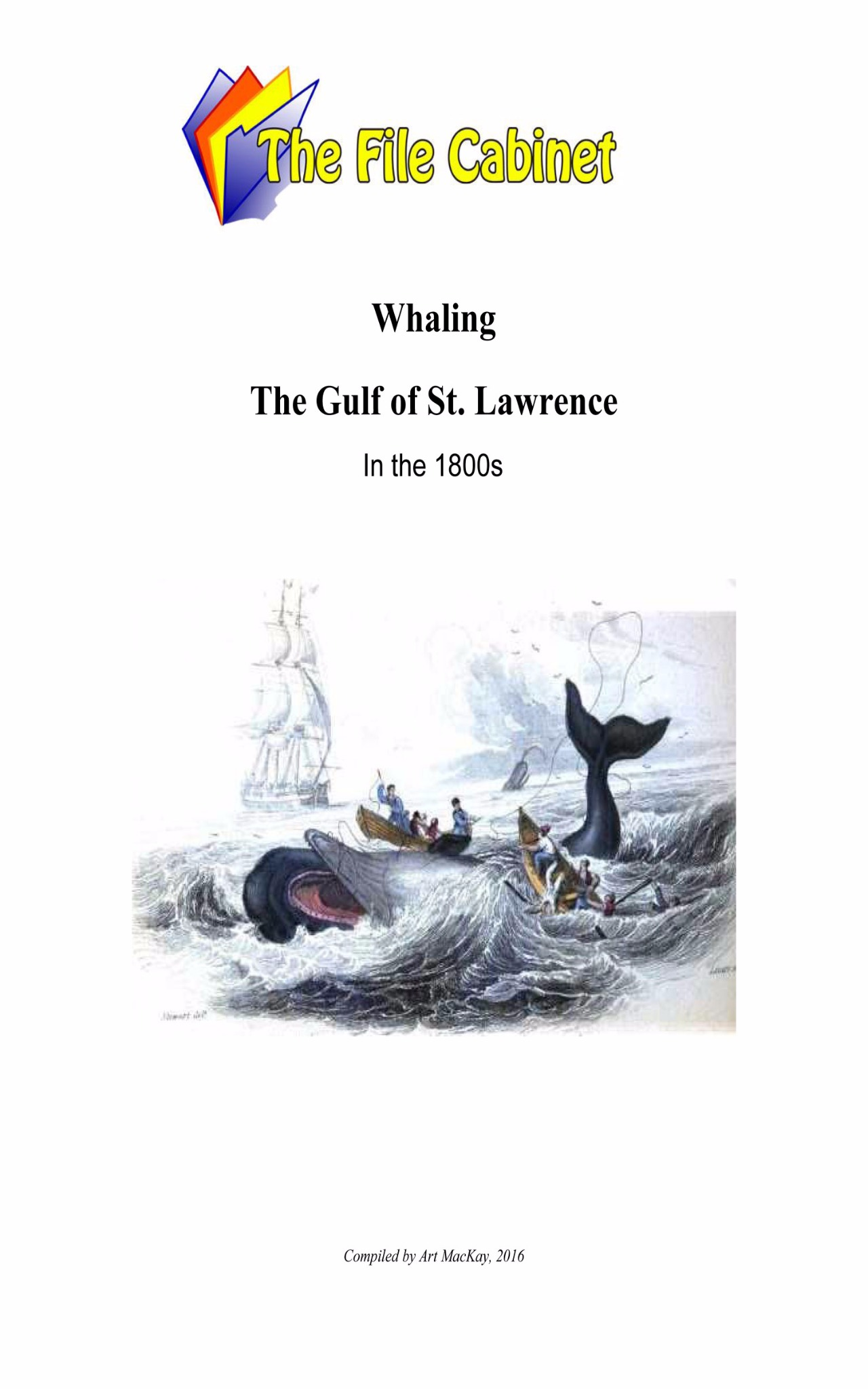 article: Whaling in the Gulf of St. Lawrence in the 1800s