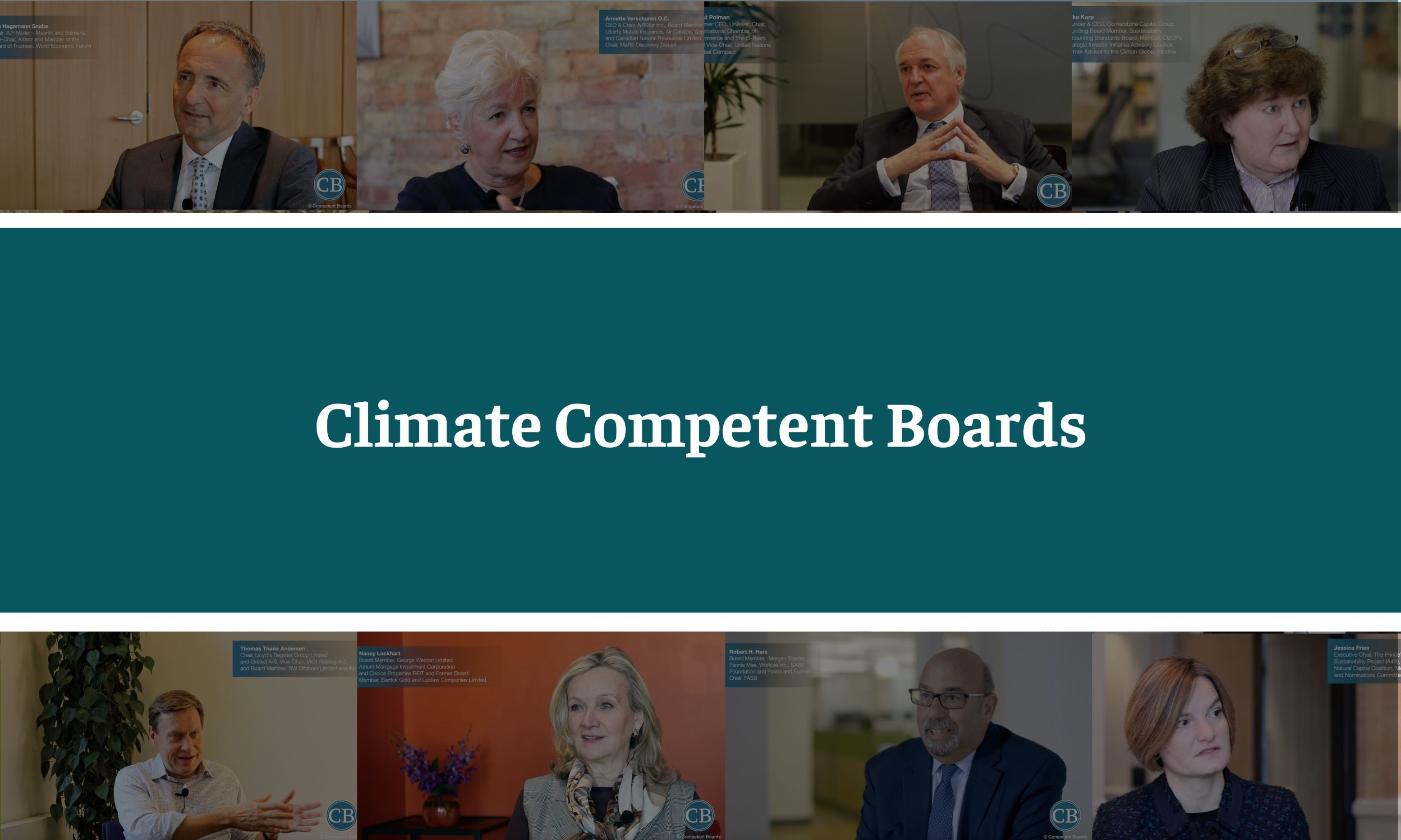 June 23rd - Climate Competent Boards - Donate to Someone in Need