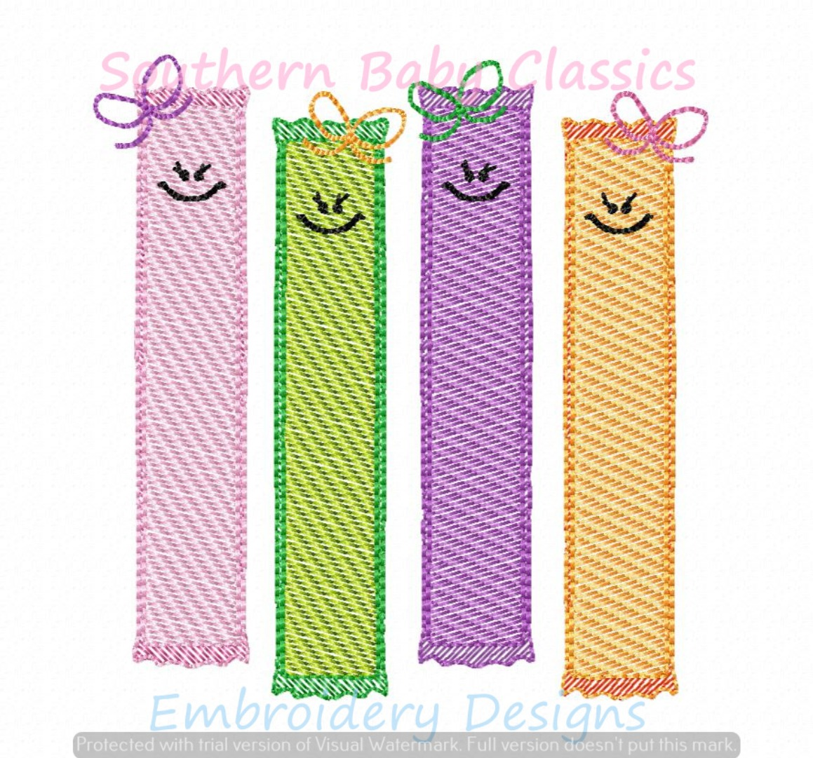 Ice Pops Popsicle Ice Cream Light Sketchy Fill Machine Embroidery Design Popsicles Summer Girl Bow
