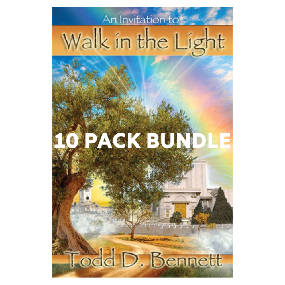 Invitation to Walk in the Light - 10 Pack
