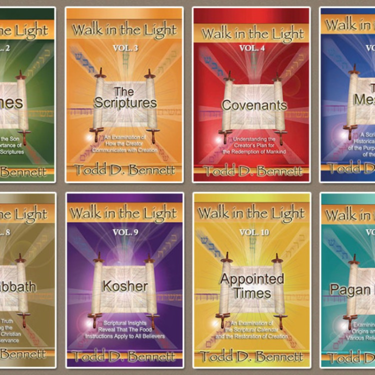 WALK IN THE LIGHT – 12 VOLUME, COMPLETE SET
