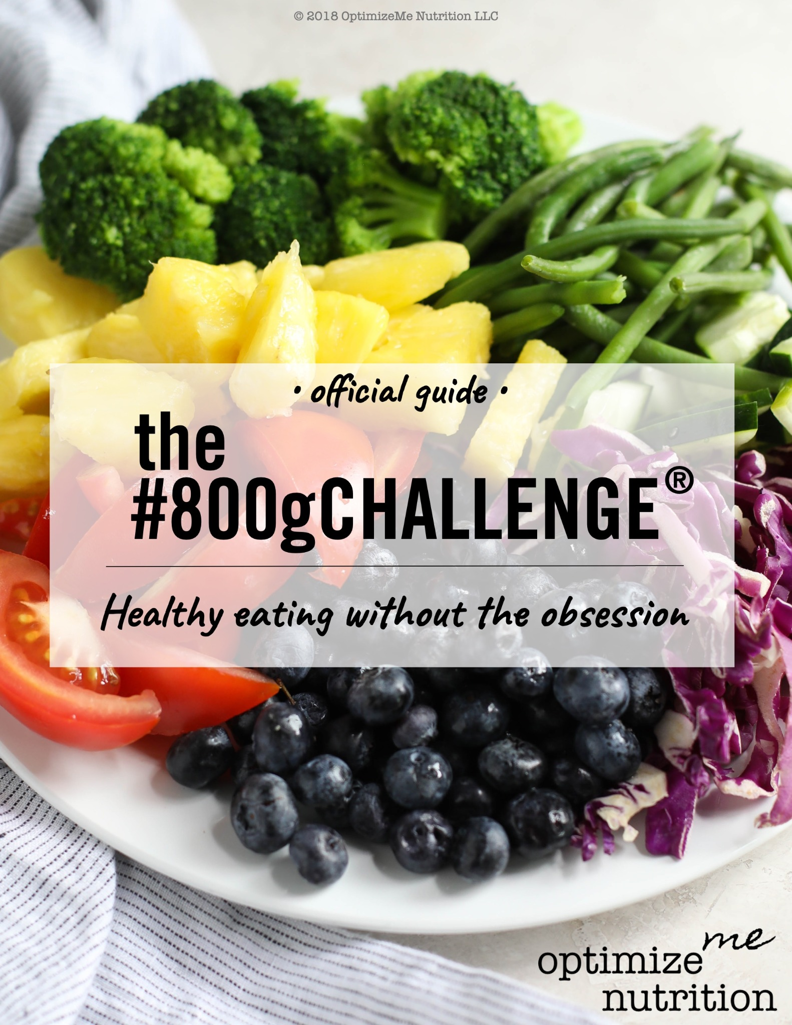 The #800gChallenge® Official Guide