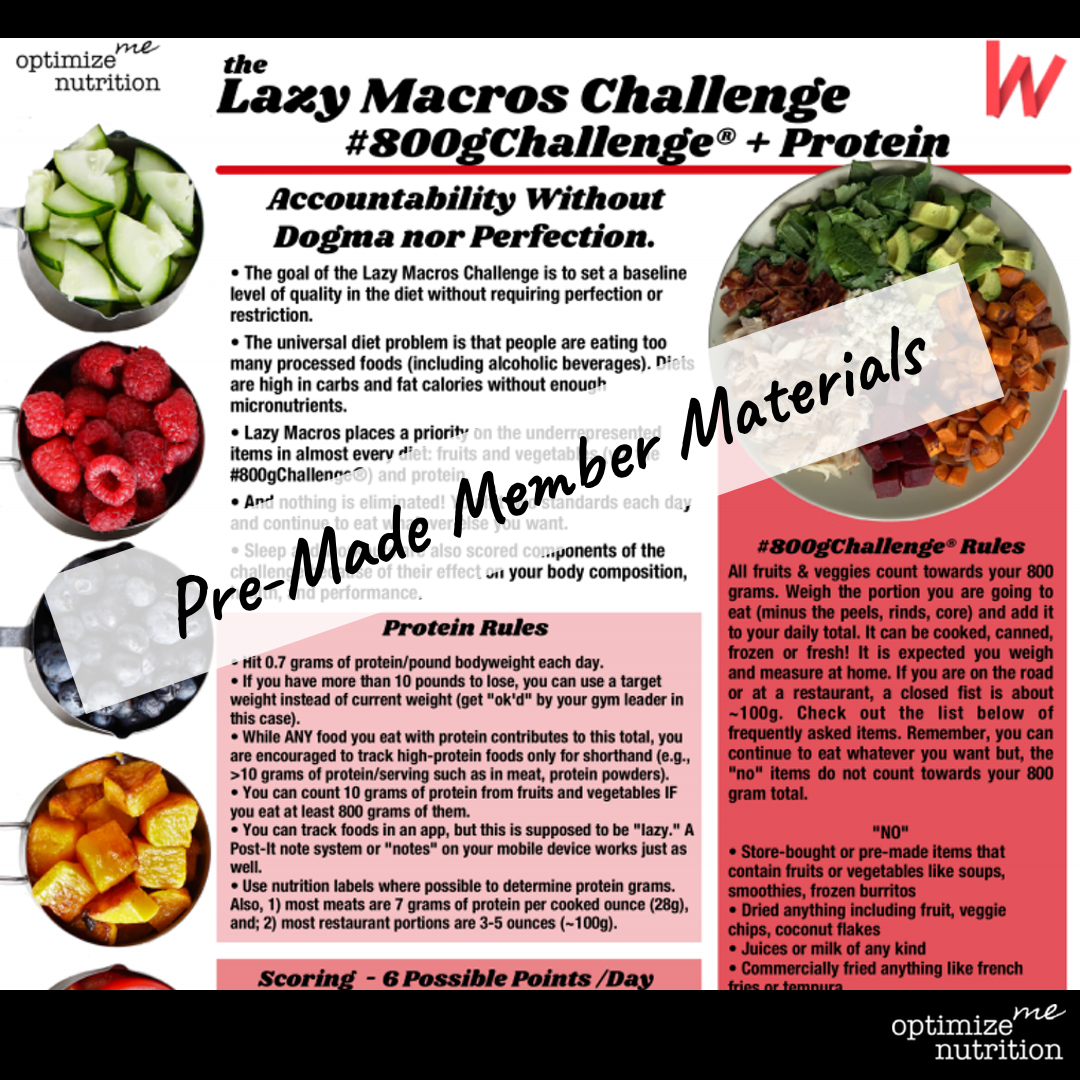 The Lazy Macros Challenge for Wodify Rise