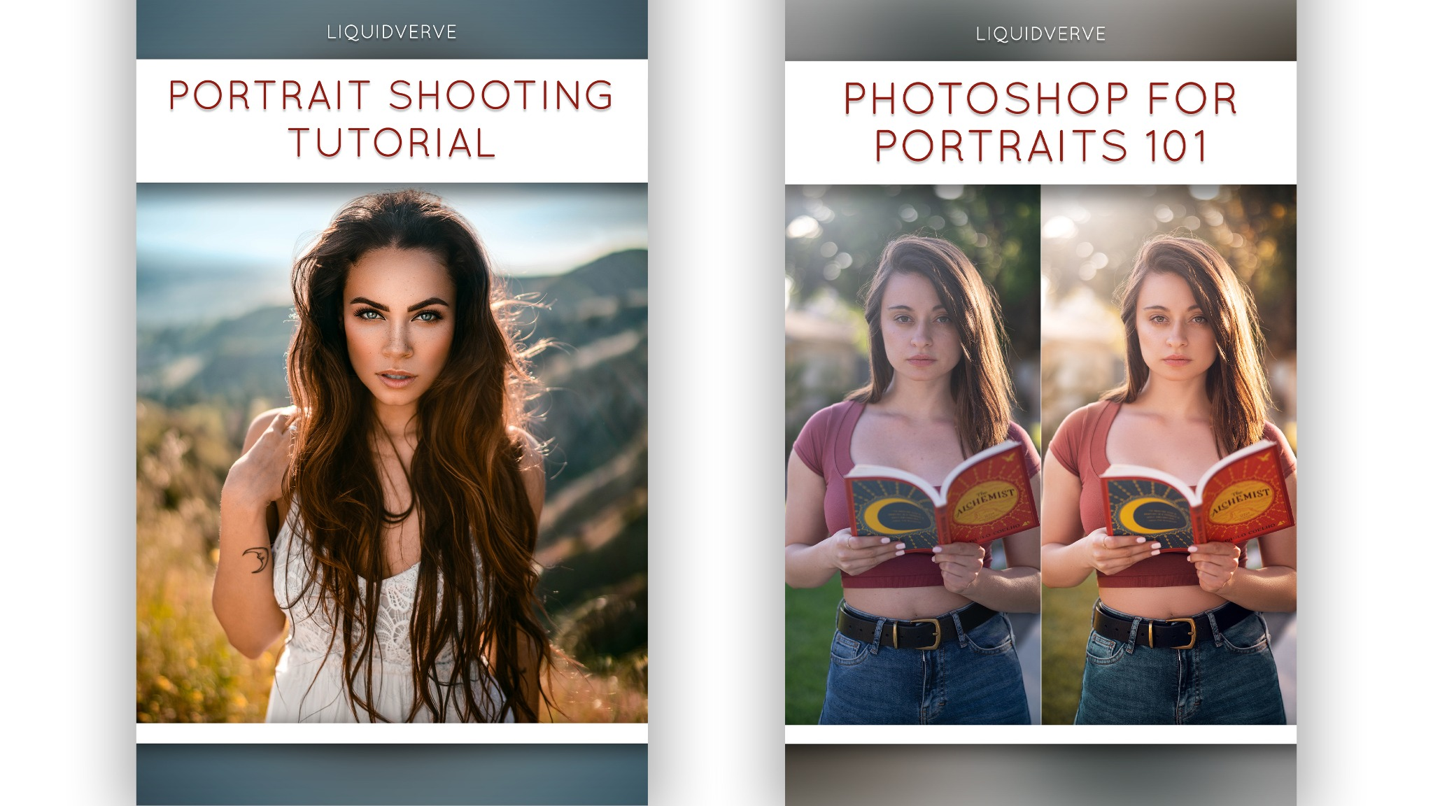 Beginner's Suite - Portrait Shooting & Editing Tutorial Bundle