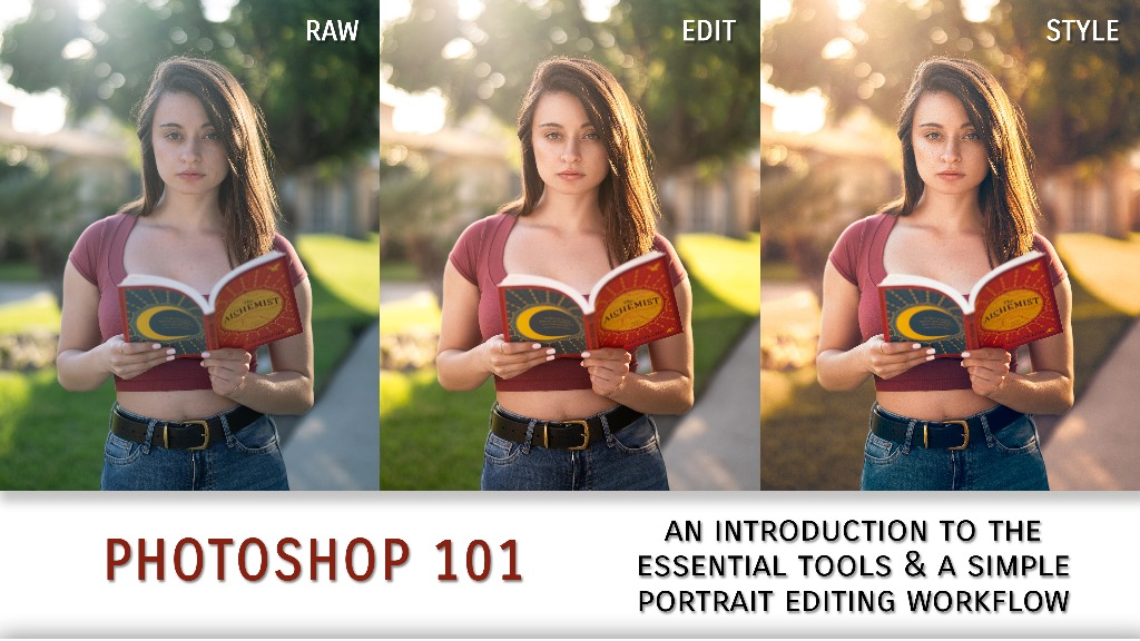 Portrait Editing in Photoshop for Beginners (UPDATED)