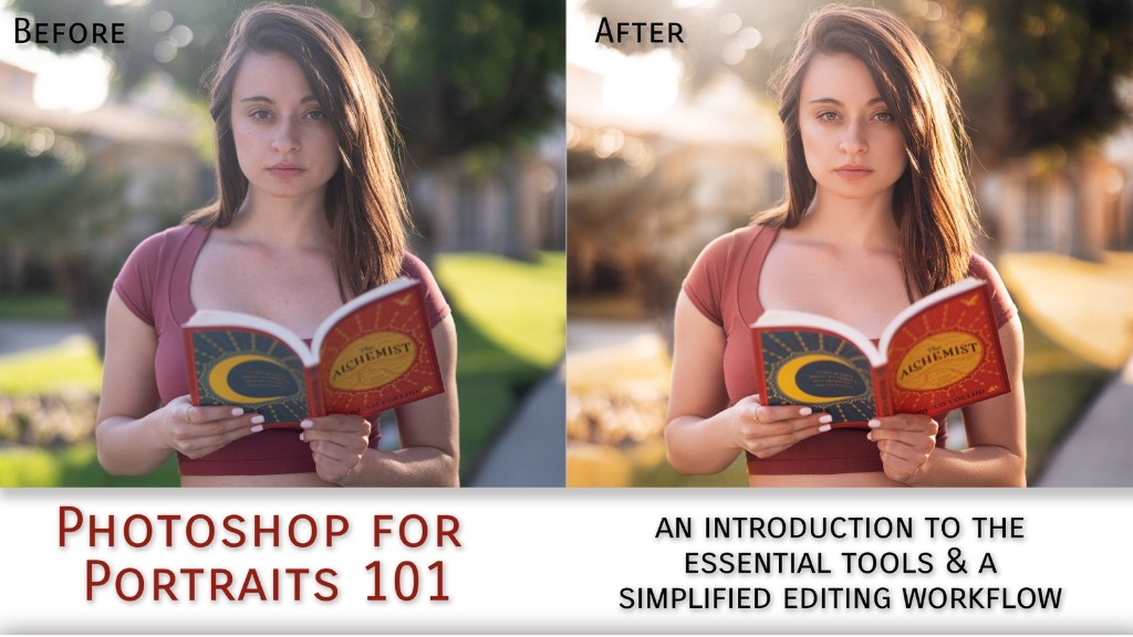 Portrait Editing in Photoshop for Beginners