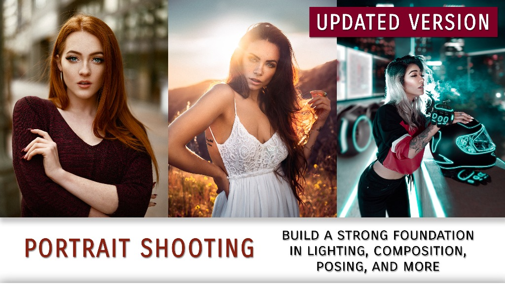 Portrait Shooting Tutorial (Beginners to Intermediate) - UPDATED