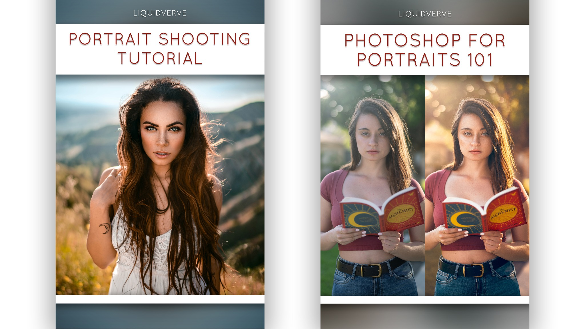 Beginner's Suite - Portrait Shooting & Editing Tutorial Bundle (UPDATE)