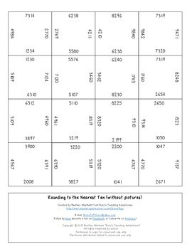 Rounding within Thousand Numbers Magic Square Puzzles