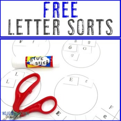 FREE Letter Sorts
