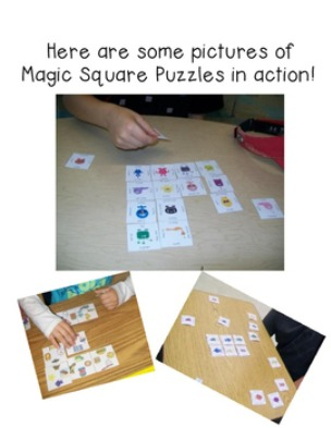 FREE Differentiated Puzzle Sampler for Elementary Kids
