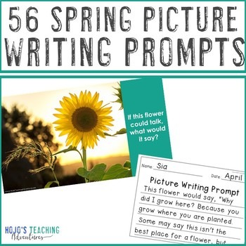 EDITABLE Spring Writing Prompts