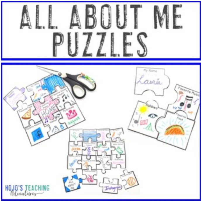 All About Me Puzzles