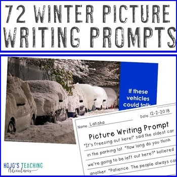 EDITABLE Winter Writing Prompts