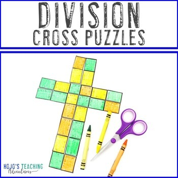 Division Cross Puzzles