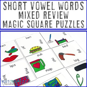 Short Vowel Words Mixed Review